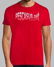 Camiseta roja - Logo blanco