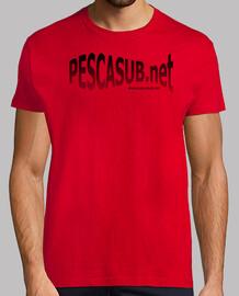Camiseta roja - Logo negro