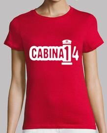 Camiseta Roja de Chica