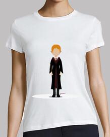 Camiseta Ron Weasley (mujer)