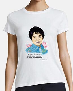 Camiseta Rosalía de Castro, Mónica Jiménez Art