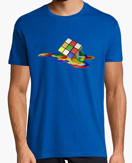 Camiseta Rubik Cubo derretido