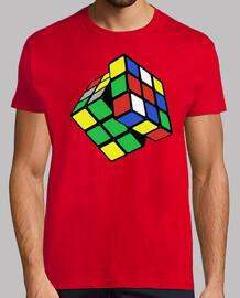 Camiseta Rubik Cubo Rubik friki serie tv cine Más vendidos