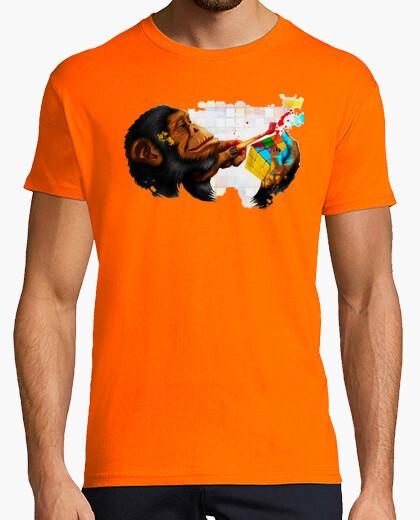 Camiseta Rubik mono