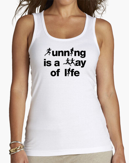 Camiseta Running is a way of life