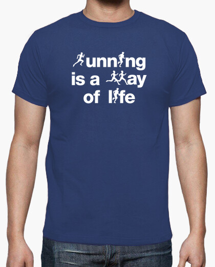 Camiseta Running is a way of life N