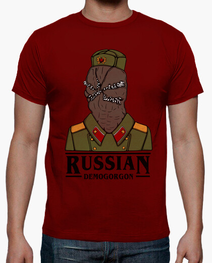 Camiseta Russian Demogorgon