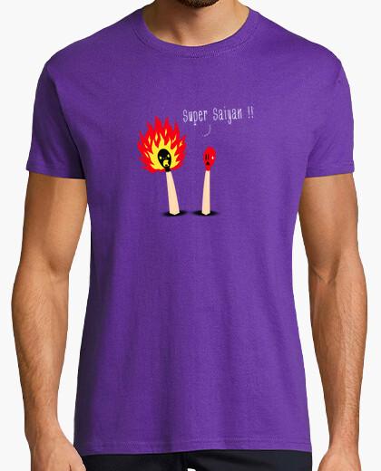 Camiseta saiyan