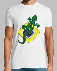 Camiseta Salamandra Anfibio Colores