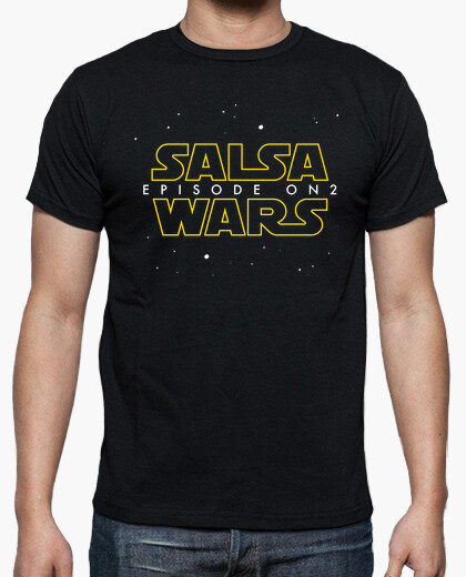Camiseta Salsa wars. Episode On2