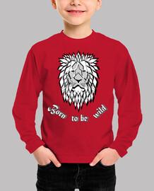 camiseta salvaje nacido para ser salvaj