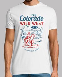 Camiseta Salvaje Oeste Colorado Retro