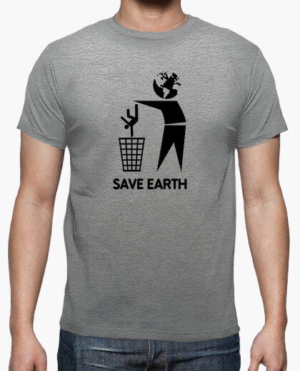 Camiseta salvar a la tierra