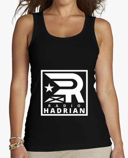 Camiseta Samarreta de tirants per a elles - Radio Hadrian blanc