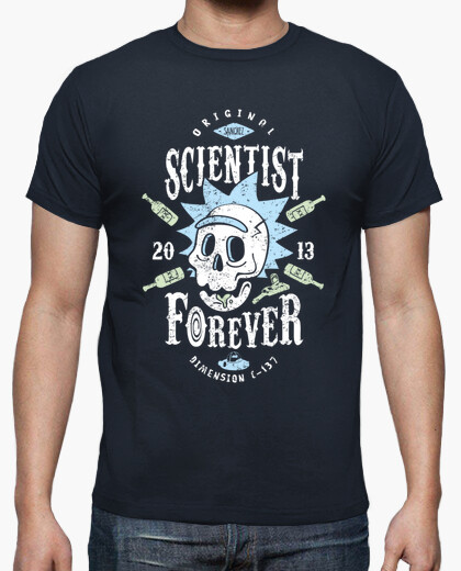Camiseta Scientist Forever