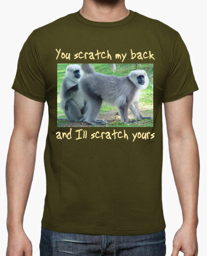 Camiseta Scratch my back