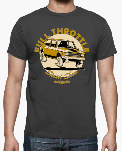 Camiseta Seat 127 2º FULL THROTTLE