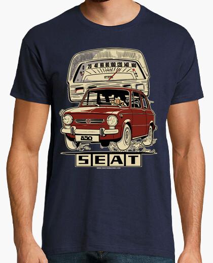Camiseta SEAT 850 GRANATE