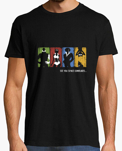 Camiseta See you space comrades...