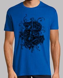 Camiseta Serpiete y Rosas