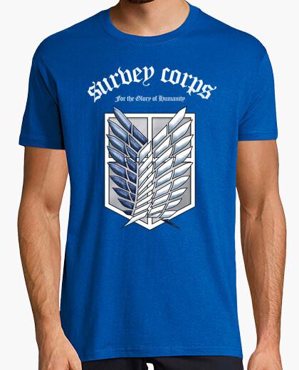 Camiseta Shingeki No Kyojin Survey Corps -...