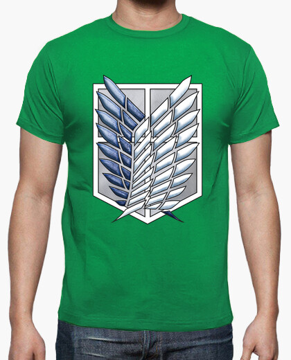Camiseta Shingeki Scouting Legion Survey Corps