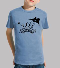 Camiseta Siempre Llueve con los GarmaLobo