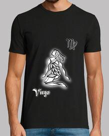 camiseta signo del zodiaco virgen hombre astrología