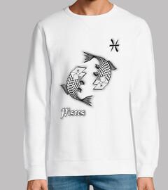 camiseta signo zodíaco pez astro