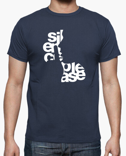 Camiseta Silence please N