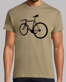 Camiseta Silueta fixie