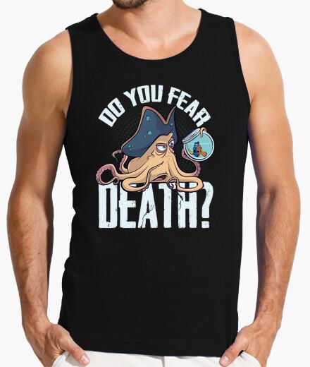 Camiseta sin mangas Do you fear death?
