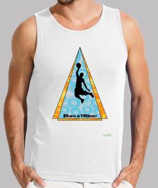 Camiseta sin mangas hombre: BElieve in YOUrself