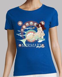 Camiseta Sirena Art nouveau