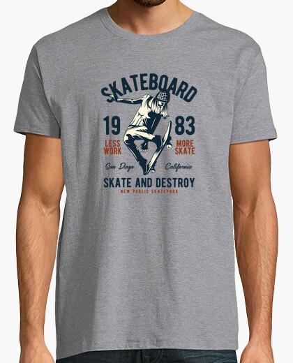 Camiseta Skateboard 1983 - ARTMISETAS ART CAMISETAS