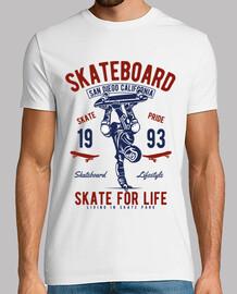Camiseta Skateboard Skate Vintage 1993
