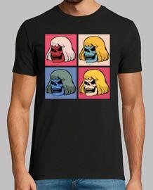 Camiseta Skeletor Warhol