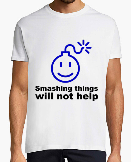 Camiseta smashing things
