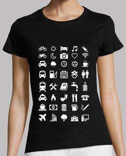 camiseta smileys reisenden