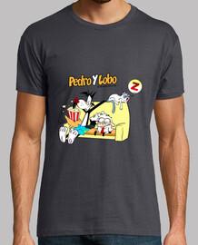Camiseta Sofa Pedro y Lobo