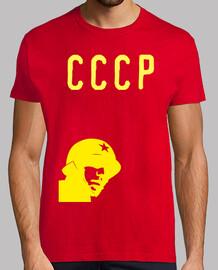 Camiseta Soldado CCCP Amarillo