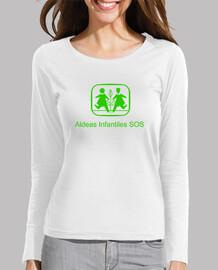 Camiseta solidaria para chica Aldeas Infantiles