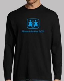 Camiseta solidaria para chico Aldeas Infantiles