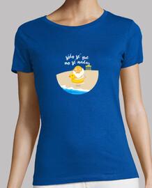 Camiseta Sólo sé que no sé nadar