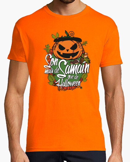 Camiseta Son mais de Samaín que de Halloween - Home