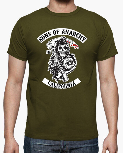 Camiseta Sons of Anarchy serie TV