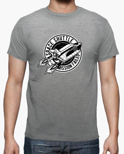 Camiseta Space Shuttle - ARTMISETAS ART CAMISETAS