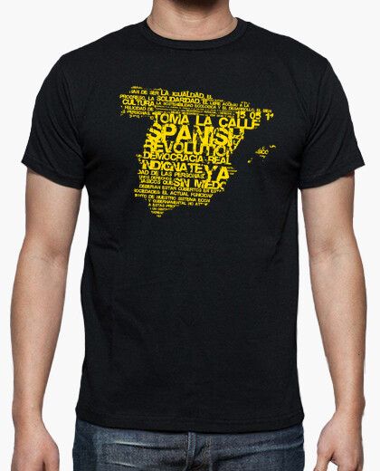 Camiseta Spanish Revolution (Amarillo)