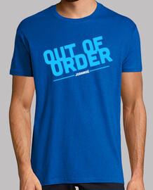 camiseta spitze aus der ordnung | schwarz