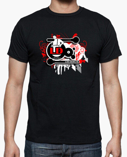 Camiseta Splat logo Loco Drum
